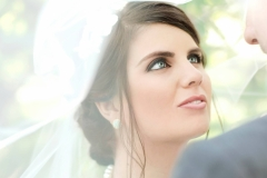 Allisons-wedding-day-upso-hairstyle-with-smokey-eyes-and-nude-lip-wedding-day-makeup