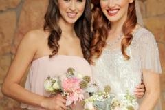 Kristin-wedding-day-with-bridesmaid